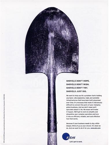 The shovel of EDS